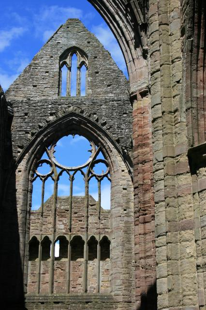 Tintern Abbey, north transept