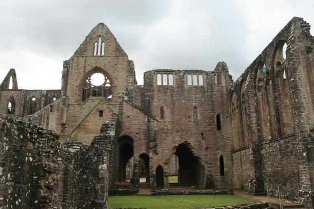 Tintern Abbey from the warming house
