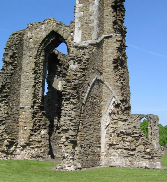 West front of Neath Abbey