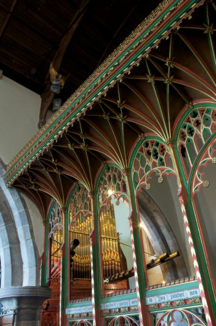 Rood Screen, Priory Church of St Mary, Usk