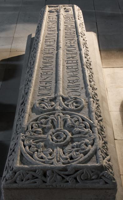 Tomb slab of Maurice de Londres, Priory Church of St Michael, Ewenny