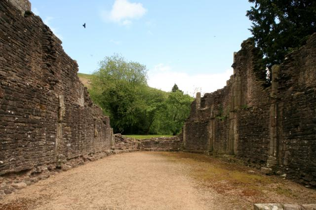 Chapterhouse, Llanthony Priory