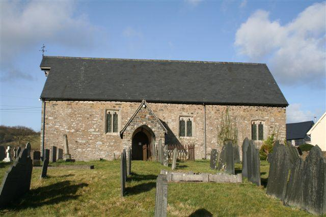 Convent church, Llanllugan
