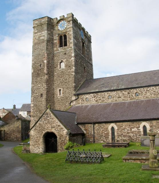 Exterior of the Church of St Mary, Conwy