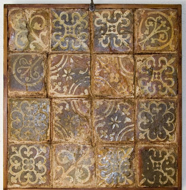 Tiles, Church of St Mary, Monmouth