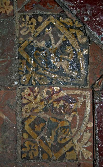 Tiles, Neath Abbey