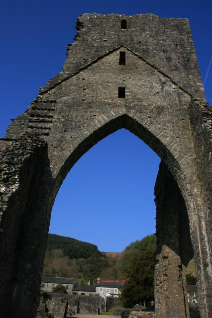 Talley Abbey, remains of the tower