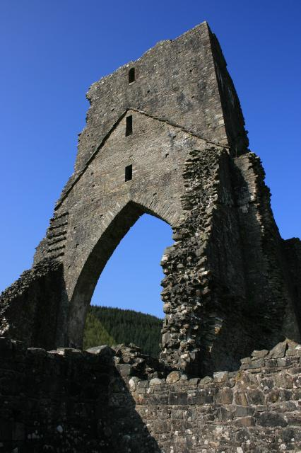 Remains of the crossing tower, Talley Abbey