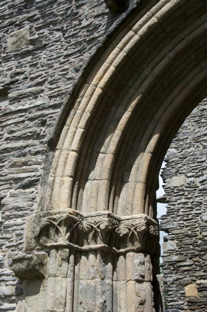 Capitals, Valle Crucis Abbey
